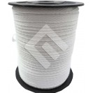 Cadarço Sarjado Editex 100 % Algodão Branco  -  04 mm Carretel c/ 100 metros